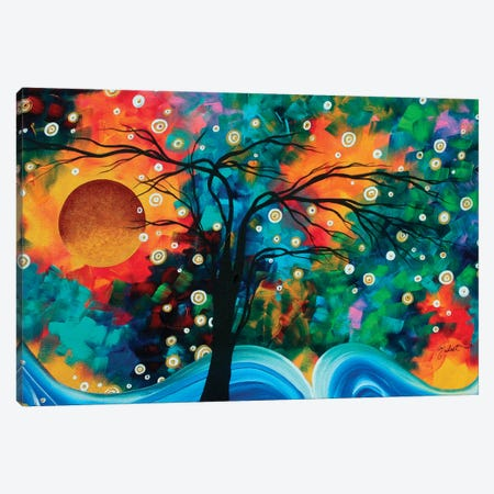 Halo Of Fire Canvas Print #MDN92} by Megan Duncanson Canvas Wall Art