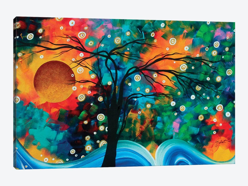 Halo Of Fire by Megan Duncanson 1-piece Canvas Art Print