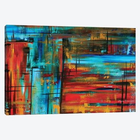 Into Autumn Canvas Print #MDN94} by Megan Duncanson Art Print