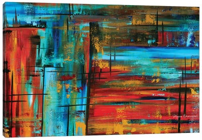 Into Autumn Canvas Art Print