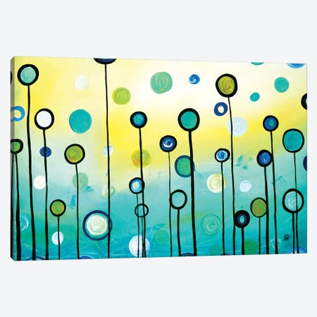 Lollipop Field Canvas Print #MDN97} by Megan Duncanson Art Print