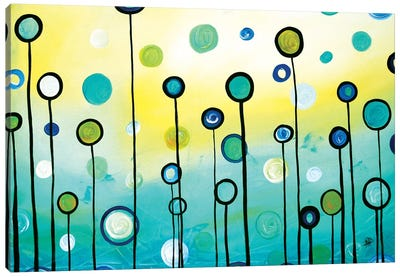 Lollipop Field Canvas Art Print