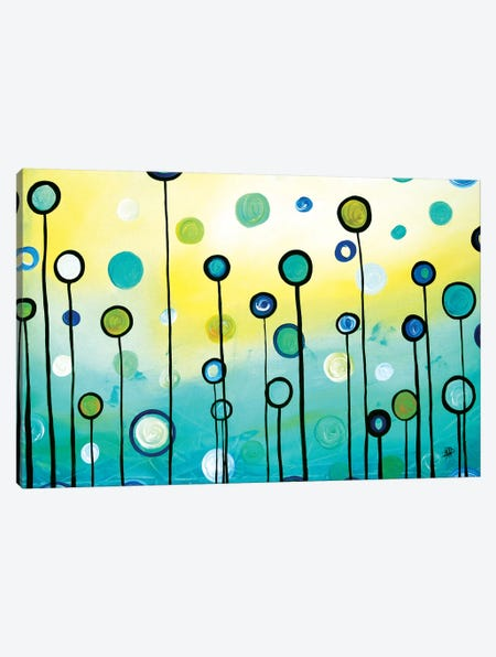 Lollipop Field Canvas Print #MDN97} by Megan Duncanson Art Print