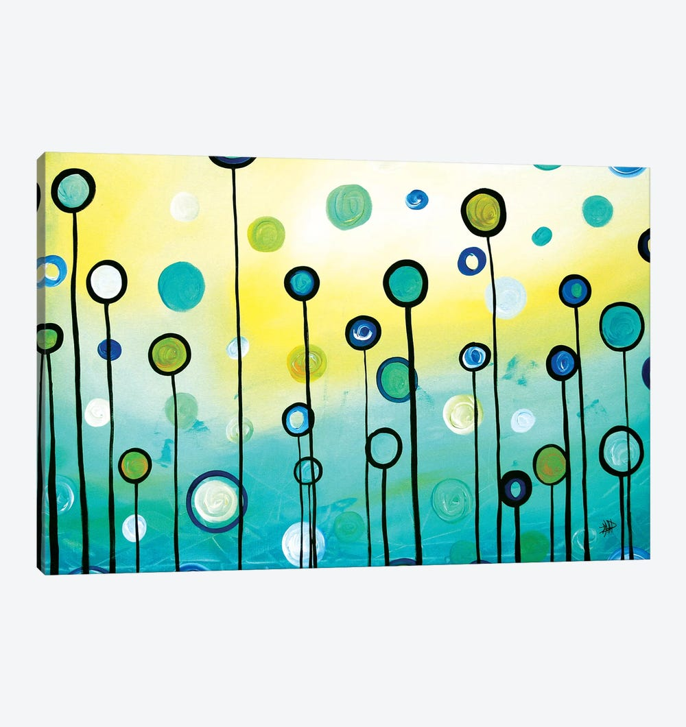 Lollipop Field by Megan Duncanson 1-piece Canvas Art
