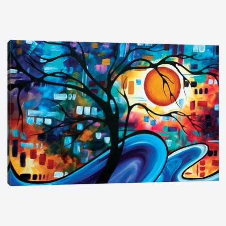 Mellow Yellow Canvas Print #MDN98} by Megan Duncanson Canvas Artwork