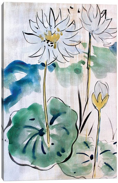 Chinese Strokes II Canvas Art Print