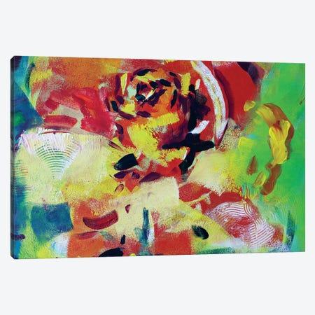 Flower II Canvas Print #MDP15} by Marina Del Pozo Art Print
