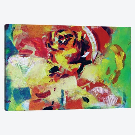 Flower II Canvas Print #MDP15} by Marina Del Pozo Art Print