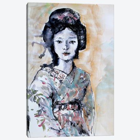 Geisha I Canvas Print #MDP17} by Marina Del Pozo Art Print