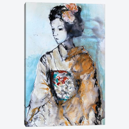 Geisha II Canvas Print #MDP18} by Marina Del Pozo Canvas Art