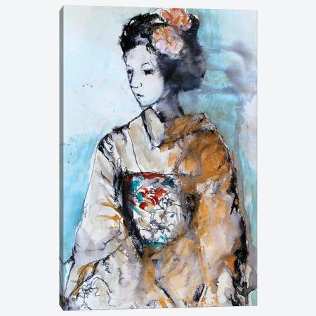 Geisha II Canvas Print #MDP18} by Marina Del Pozo Canvas Art