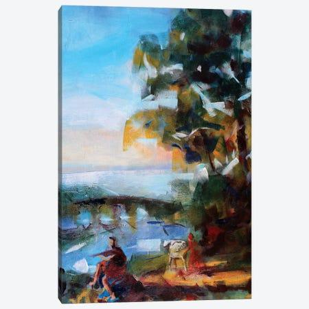 Antique Landscape Canvas Print #MDP1} by Marina Del Pozo Canvas Print