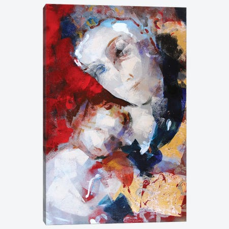 Gold Madonna I Canvas Print #MDP24} by Marina Del Pozo Canvas Wall Art
