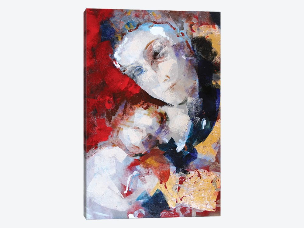 Gold Madonna I 1-piece Canvas Wall Art
