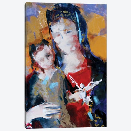 Gold Madonna II Canvas Print #MDP25} by Marina Del Pozo Canvas Wall Art