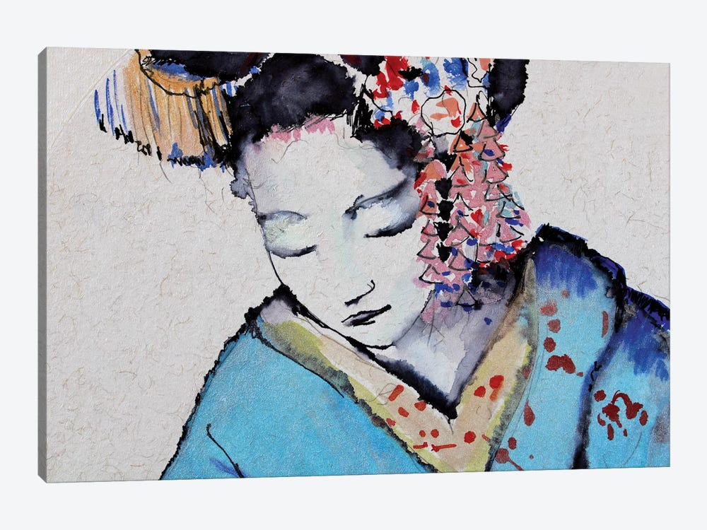 Little Geisha I by Marina Del Pozo 1-piece Canvas Art Print