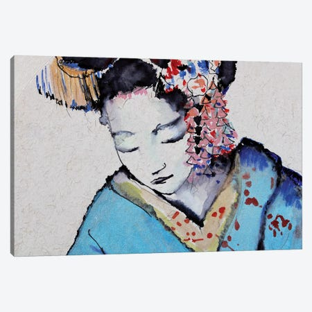 Little Geisha I Canvas Print #MDP29} by Marina Del Pozo Canvas Print