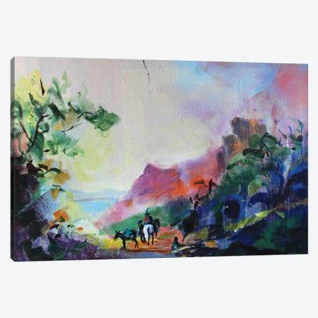 Antique Landscape I Canvas Print #MDP2} by Marina Del Pozo Canvas Print