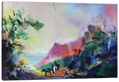 Antique Landscape I Canvas Art Print
