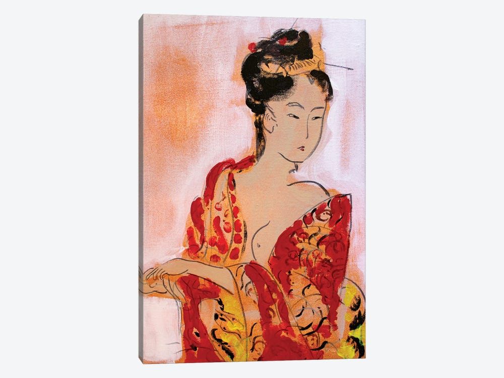 Little Geisha III by Marina Del Pozo 1-piece Canvas Art