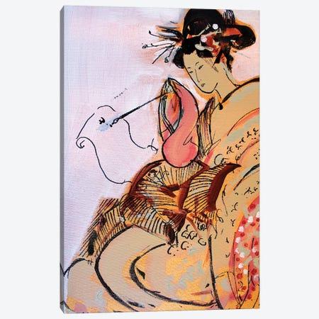 Little Geisha VI Canvas Print #MDP34} by Marina Del Pozo Canvas Art Print