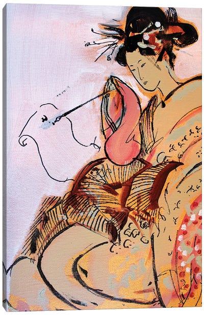 Little Geisha VI Canvas Art Print