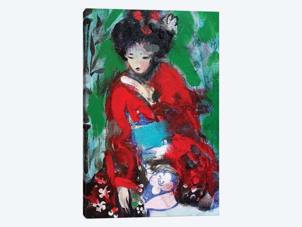 Little Geisha Number I by Marina Del Pozo 1-piece Canvas Wall Art