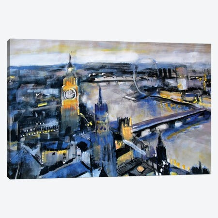London Canvas Print #MDP37} by Marina Del Pozo Canvas Print