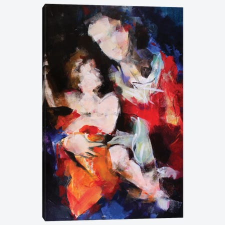 Madonna X Canvas Print #MDP38} by Marina Del Pozo Canvas Artwork