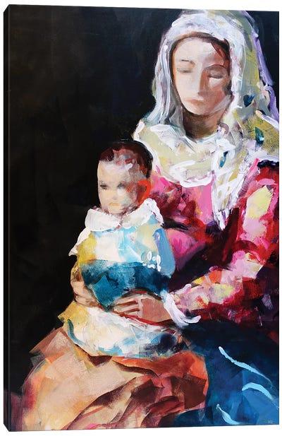 Madonna XVII Canvas Art Print