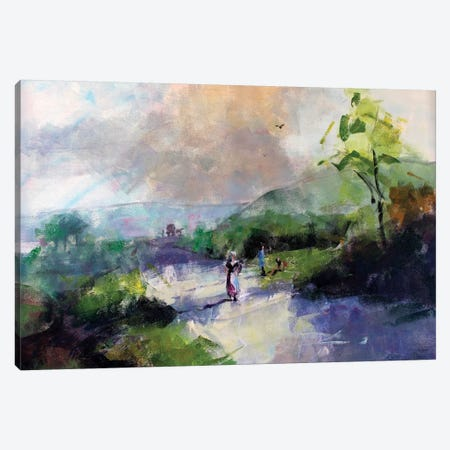 Antique Landscape III Canvas Print #MDP3} by Marina Del Pozo Art Print