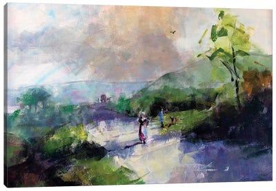Antique Landscape III Canvas Art Print