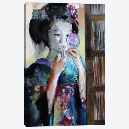 Making Up Canvas Print #MDP40} by Marina Del Pozo Art Print