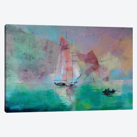 Marine I Canvas Print #MDP41} by Marina Del Pozo Canvas Art Print