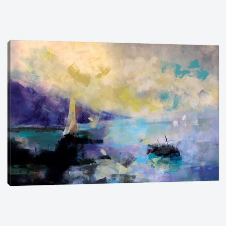 Marine II Canvas Print #MDP42} by Marina Del Pozo Canvas Print
