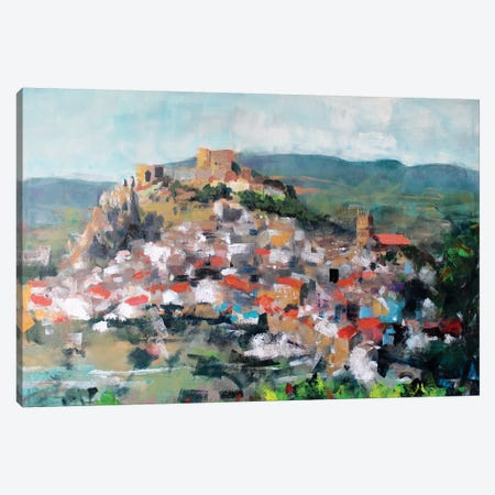 Old Town Canvas Print #MDP45} by Marina Del Pozo Canvas Artwork