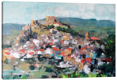 Old Town Canvas Art Print