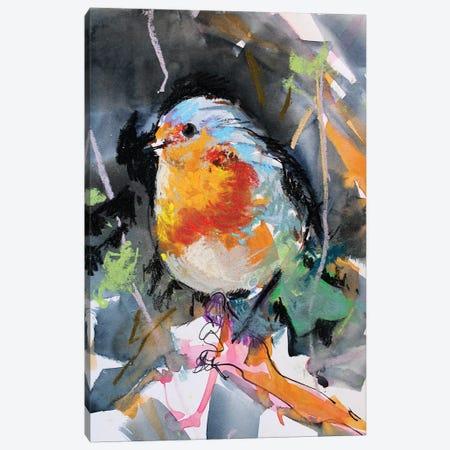 Petirrojo Canvas Print #MDP47} by Marina Del Pozo Canvas Art