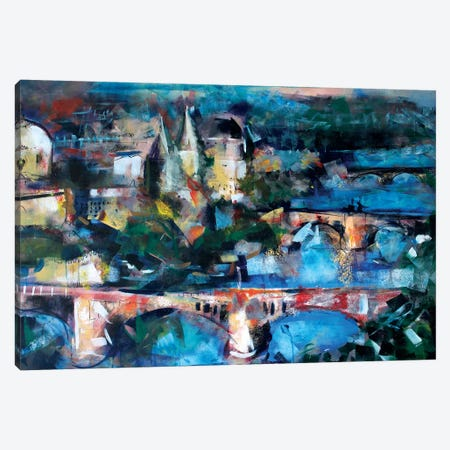 Prague Canvas Print #MDP48} by Marina Del Pozo Art Print