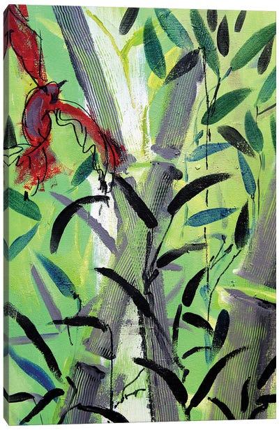 Red Bird I Canvas Art Print