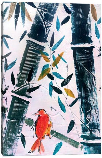 Red Bird II Canvas Art Print