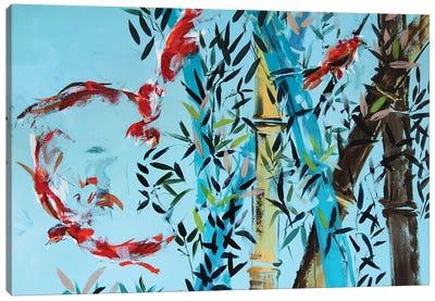 Red Birds Canvas Art Print
