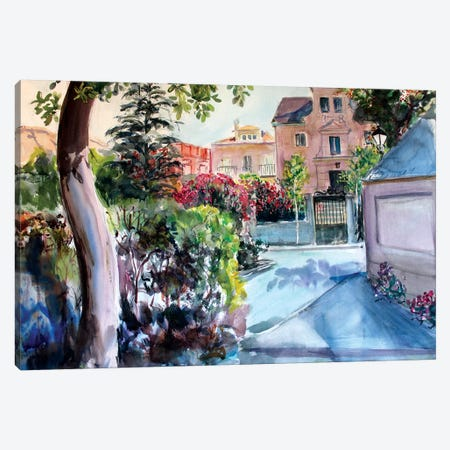 Residential Canvas Print #MDP55} by Marina Del Pozo Art Print