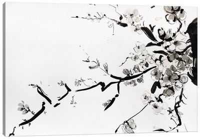 Sumi-E Canvas Art Print