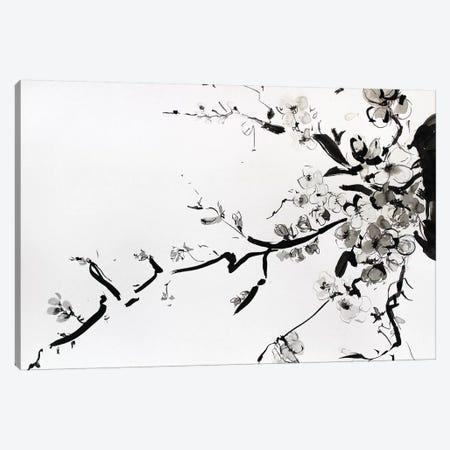 Sumi-E Canvas Print #MDP57} by Marina Del Pozo Art Print