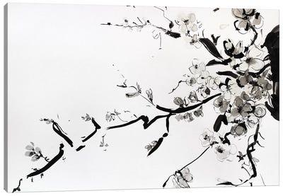 Sumi-E Canvas Art Print