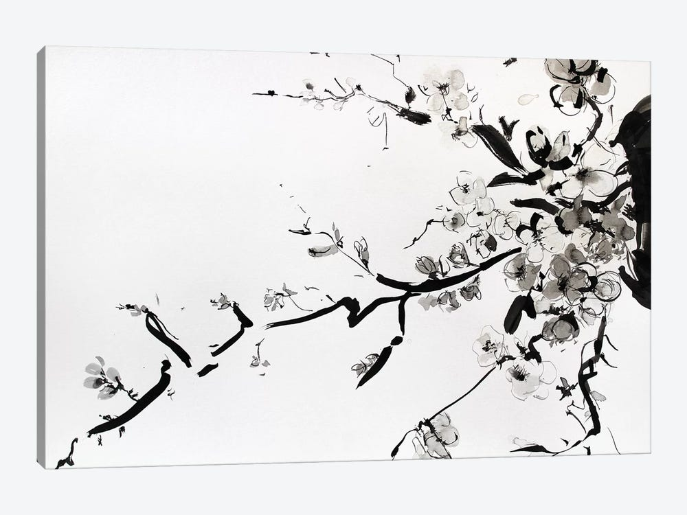 Sumi-E by Marina Del Pozo 1-piece Canvas Wall Art