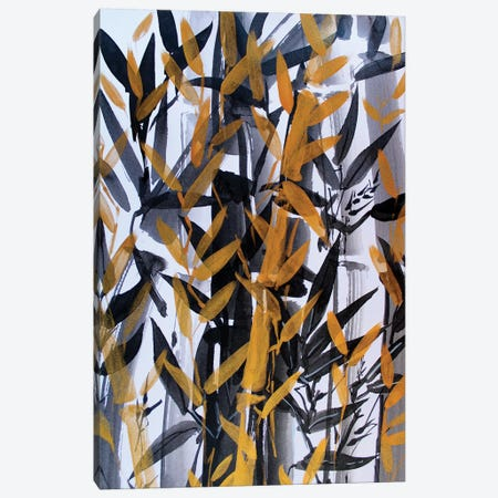 Bamboo 3-Piece Canvas #MDP5} by Marina Del Pozo Canvas Wall Art