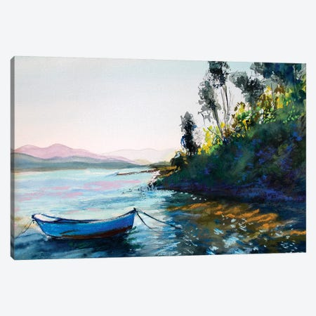 The Boat Canvas Print #MDP60} by Marina Del Pozo Canvas Print