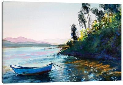 The Boat Canvas Art Print